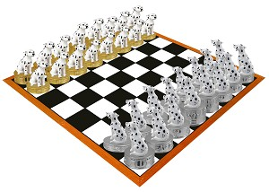 Dalmatian Chess Set (Pieces Only)