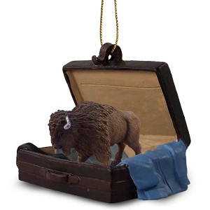 Buffalo Traveling Companion Ornament